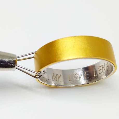 50 Simple Wedding Rings Design Ideas 38