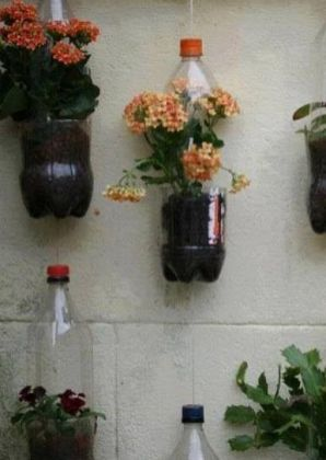 50 Ways to Reuse Plastic Bottles to Cute Planters Ideas 35