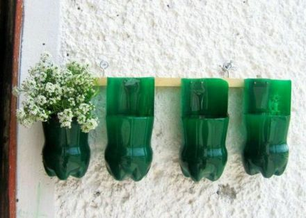 50 Ways to Reuse Plastic Bottles to Cute Planters Ideas 53