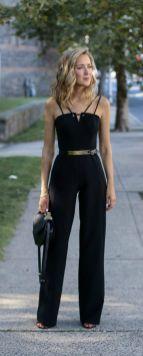50 Ways to Wear Gold Belts Ideas 20