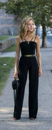 50 Ways to Wear Gold Belts Ideas 20