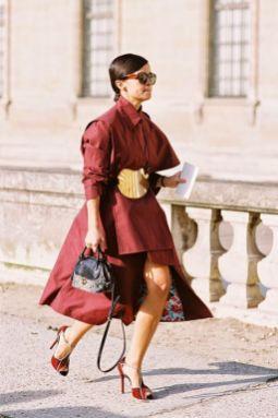 50 Ways to Wear Gold Belts Ideas 3