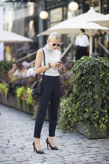 50 Ways to Wear White Sleeveless Top Ideas 13