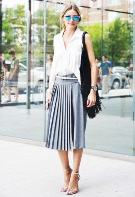 50 Ways to Wear White Sleeveless Top Ideas 27
