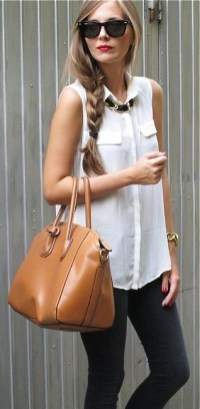 50 Ways to Wear White Sleeveless Top Ideas 28