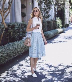 50 Ways to Wear White Sleeveless Top Ideas 3