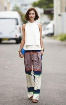 50 Ways to Wear White Sleeveless Top Ideas 35