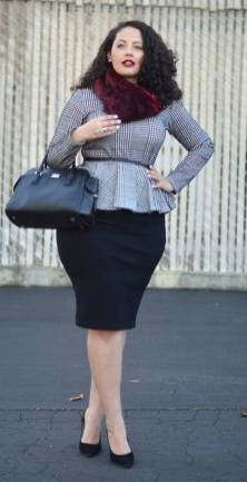 50 Womens Work Outfits for Plus Size Ideas 50