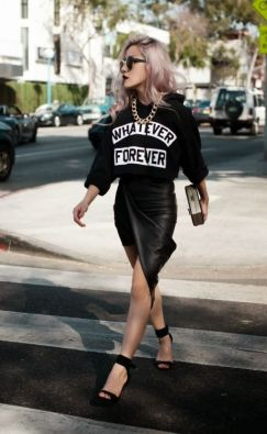 60 Spring and Summer All Black Outfits Ideas 13