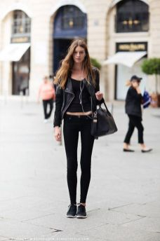 60 Spring and Summer All Black Outfits Ideas 15