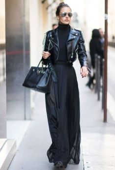60 Spring and Summer All Black Outfits Ideas 19