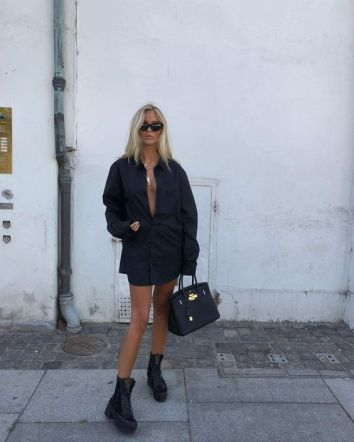 60 Spring and Summer All Black Outfits Ideas 2