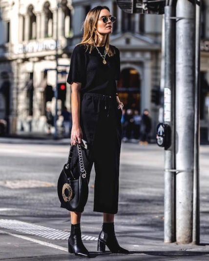 60 Spring and Summer All Black Outfits Ideas 27