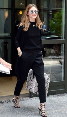 60 Spring and Summer All Black Outfits Ideas 3