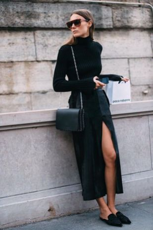 60 Spring and Summer All Black Outfits Ideas 30