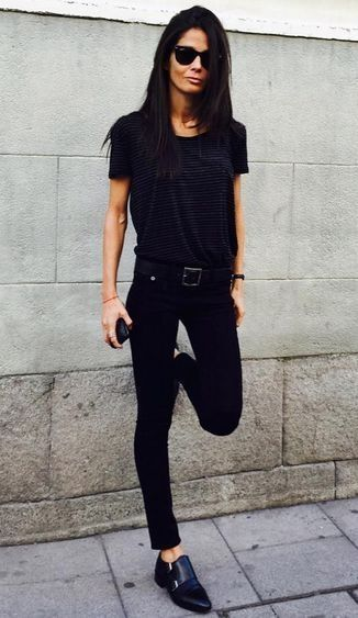 60 Spring and Summer All Black Outfits Ideas 61