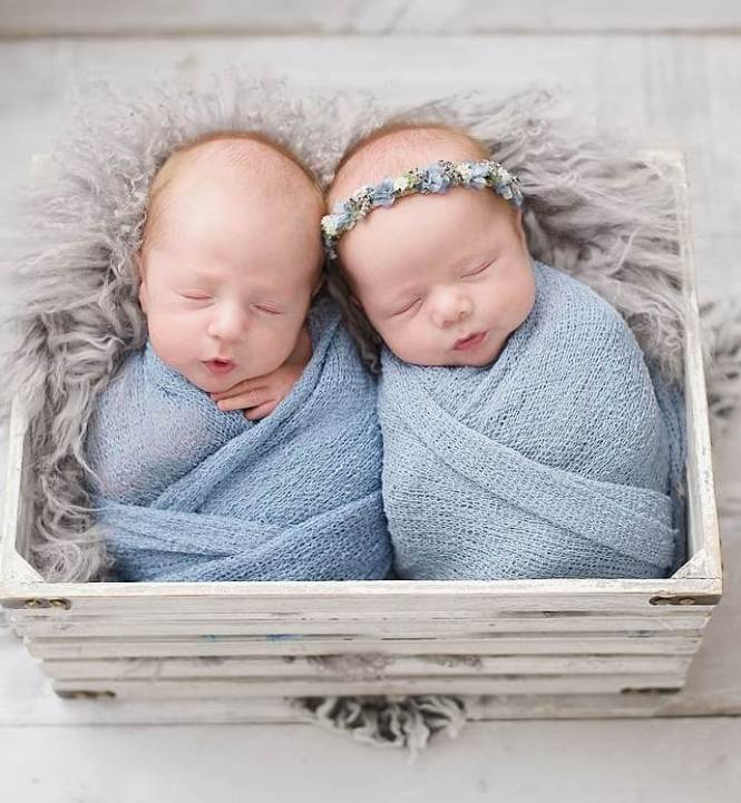100 Cute Twins New Born Photography You Can Copy 30 1