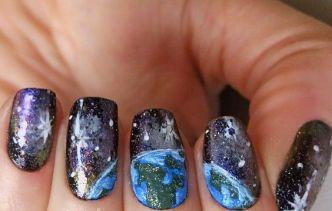 30 Earth Day Nails Art Ideas 14 2