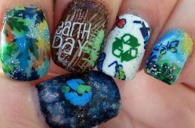 30 Earth Day Nails Art Ideas 24