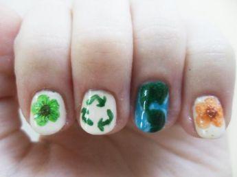 30 Earth Day Nails Art Ideas 25