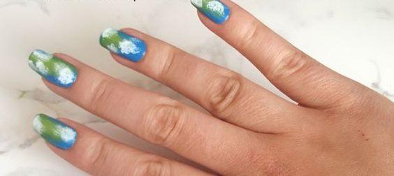 30 Earth Day Nails Art Ideas 3 2