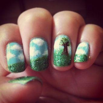 30 Earth Day Nails Art Ideas 31 2