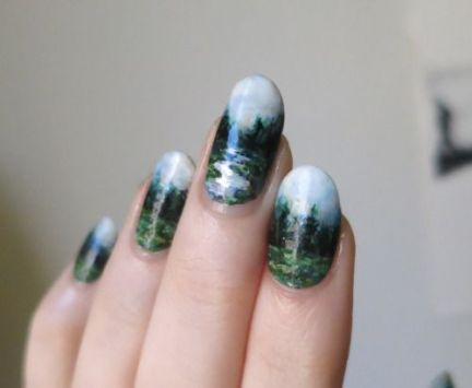 30 Earth Day Nails Art Ideas 34 2