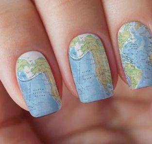 30 Earth Day Nails Art Ideas 7