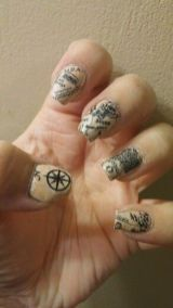 30 Earth Day Nails Art Ideas 8 2