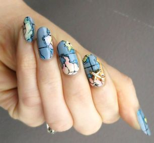 30 Earth Day Nails Art Ideas 9 2