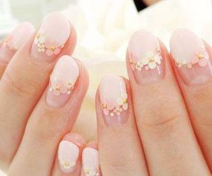 30 Glam Wedding Nail Art for Bride Ideas 11