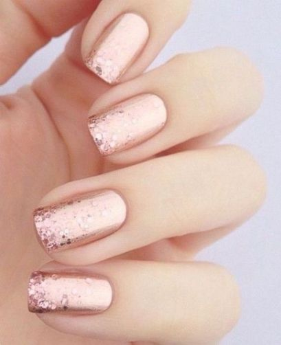 30 Glam Wedding Nail Art for Bride Ideas 14