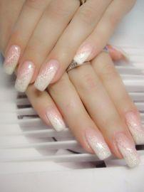 30 Glam Wedding Nail Art for Bride Ideas 19