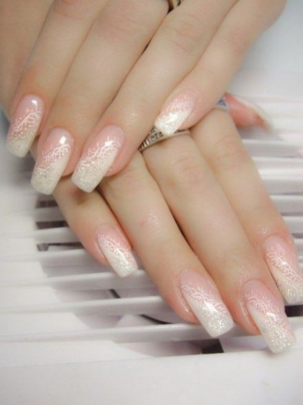 30 Glam Wedding Nail Art for Bride Ideas 19