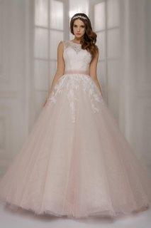 30 Soft Color Look Bridal Dresses Ideas 20
