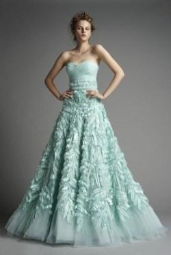 30 Soft Color Look Bridal Dresses Ideas 28