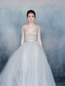 30 Soft Color Look Bridal Dresses Ideas 35