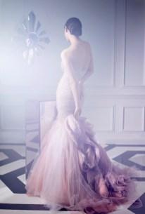 30 Soft Color Look Bridal Dresses Ideas 7