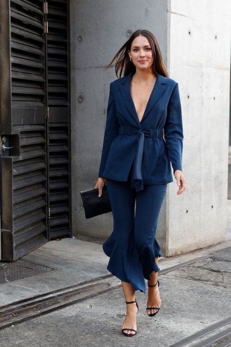40 All Blue Outfits Street Styles Ideas 12