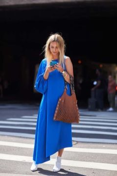 40 All Blue Outfits Street Styles Ideas 16
