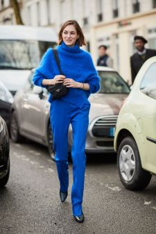 40 All Blue Outfits Street Styles Ideas 24
