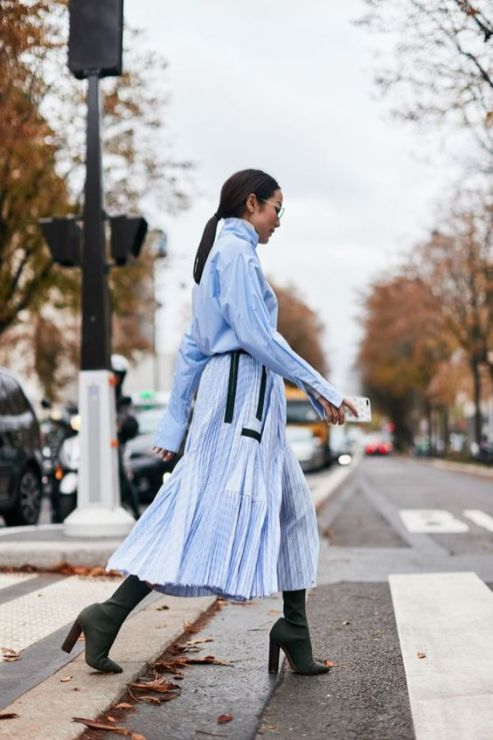 40 All Blue Outfits Street Styles Ideas 26