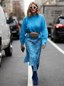 40 All Blue Outfits Street Styles Ideas 27