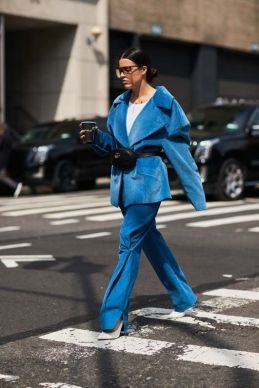 40 All Blue Outfits Street Styles Ideas 34