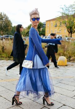 40 All Blue Outfits Street Styles Ideas 4