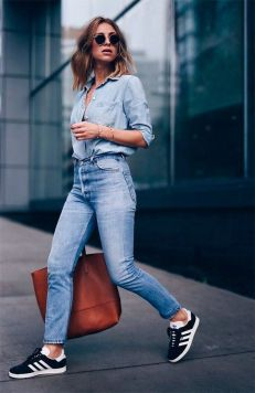 40 All Blue Outfits Street Styles Ideas 40