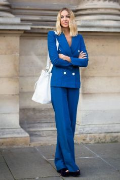 40 All Blue Outfits Street Styles Ideas 41