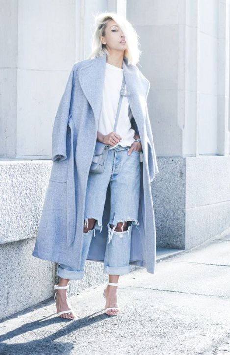 40 All Blue Outfits Street Styles Ideas 44