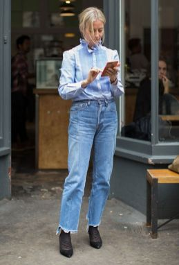 40 All Blue Outfits Street Styles Ideas 8