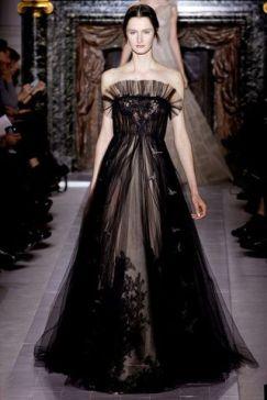 40 Black Mesh Long Dresses Ideas 28